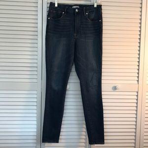 Good American high rise skinny jeans
